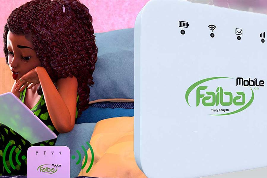Is Faiba in Kisii bundle packages, router, Sim, prices