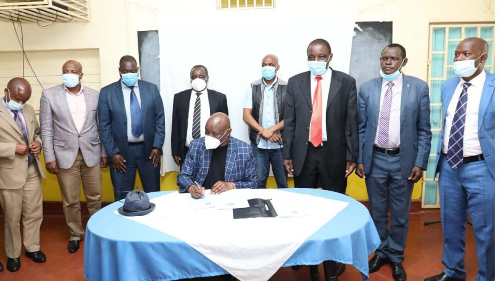 Kisii County executive members and governor