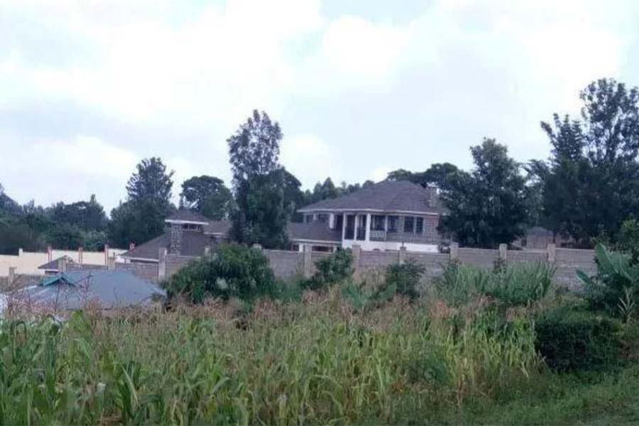Kisii Governor James Ongwae house in Rioma Village
