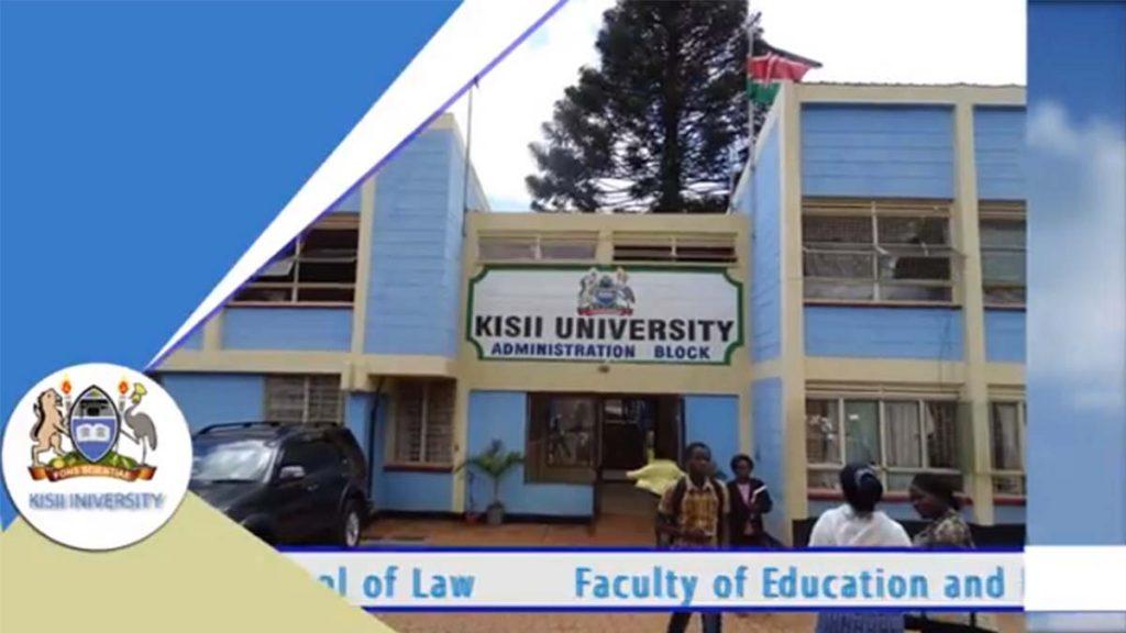 Kisii University portal courses