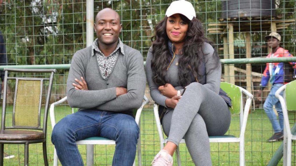 Jared Ombongi Nivaton and Lilian Muli