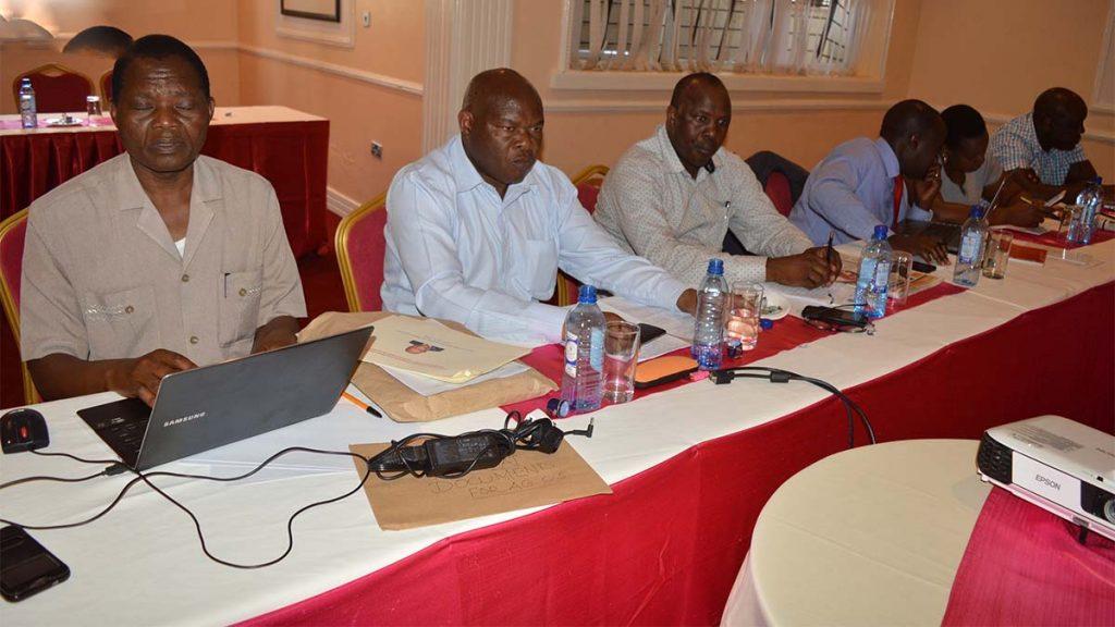 Nyamira county executives members Nyagarama