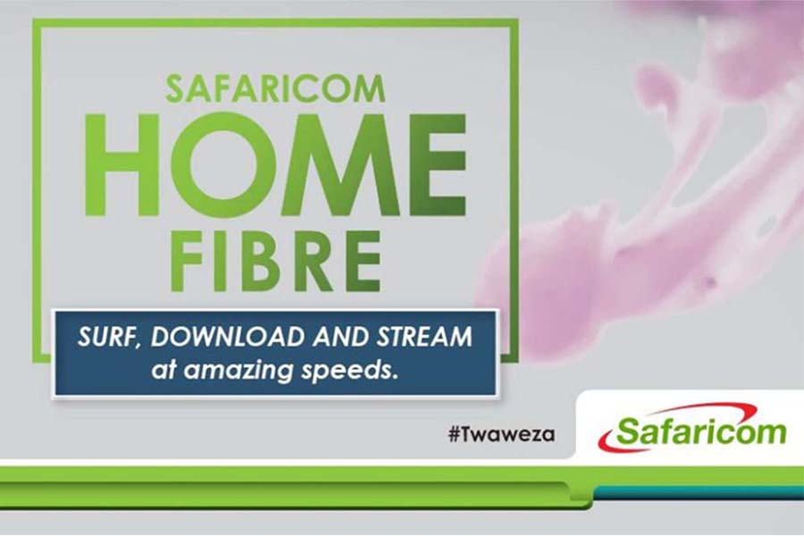 Safaricom home fibre packages, coverage areas, installation, charges, payments, and speed test
