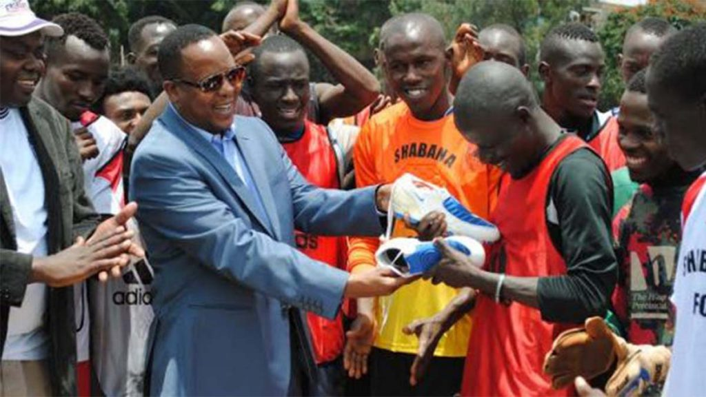 Shabana FC owner Dogo Khan Kisii Businessman