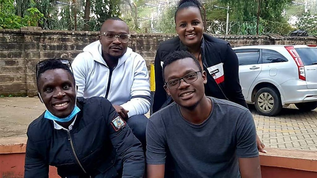 Victor Nyaata, Cypian Osoro, Miggy Champ, and DJ Bunney 254