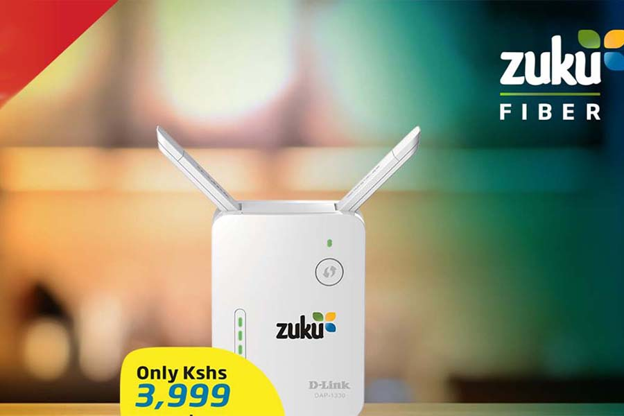 Zuku internet packages, prices, coverage areas