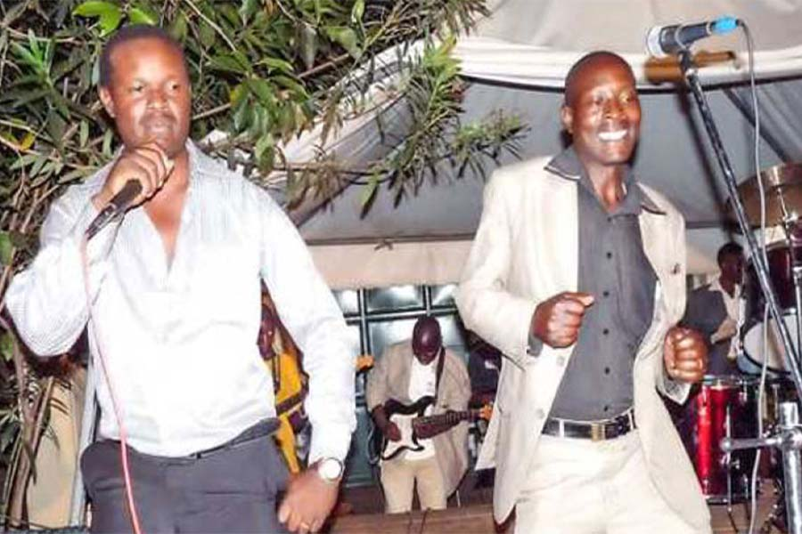Bana Sungusia Original band members Momanyi Kenyatta and Onsongo Omosongo