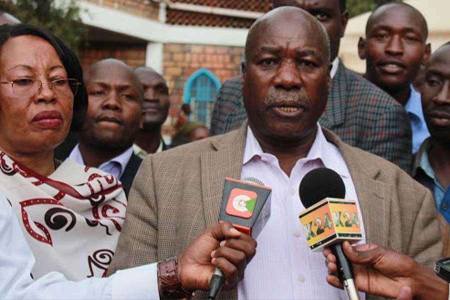 James Gesami former MP West Mugirango