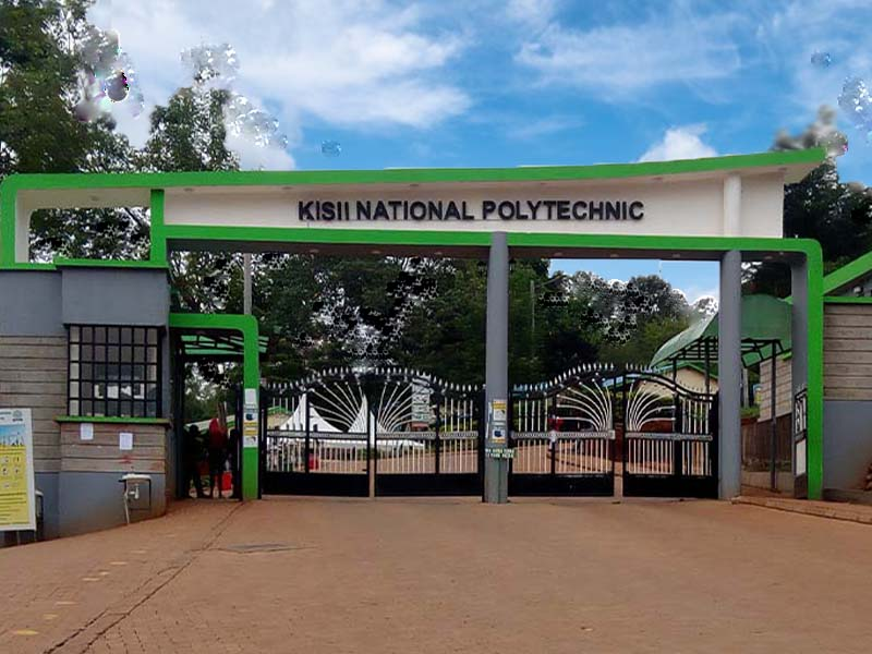 Kisii National Polytechnic application form and courses 2021