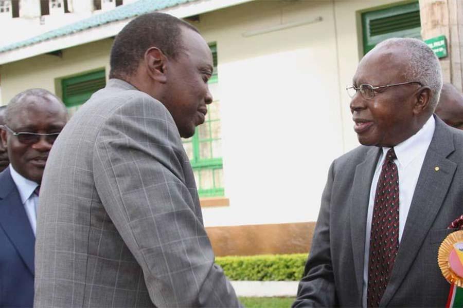 President Uhuru Kenyatta and Simeon Nyachae companies, properties and wealth