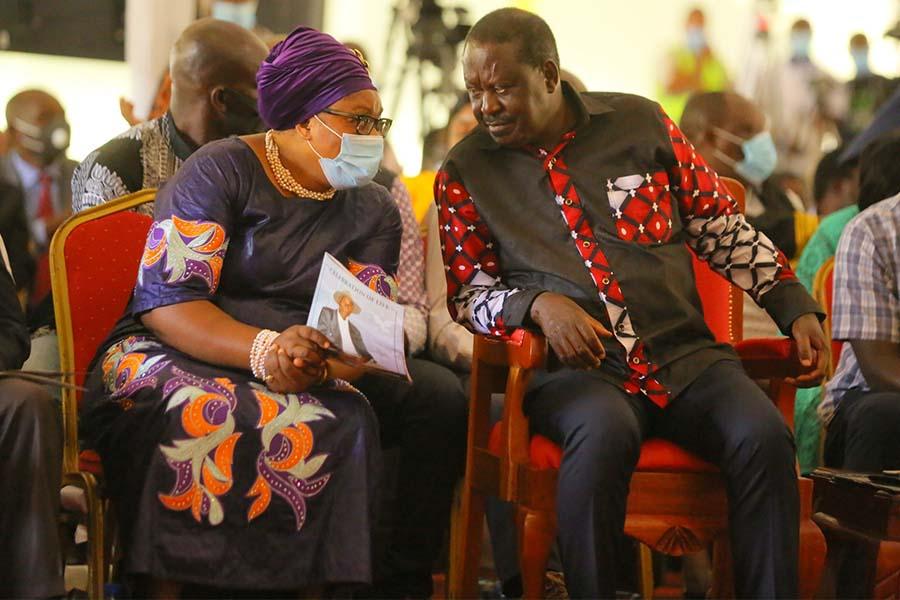 Hon Raila Odinga and Kisii County Nominated Senator MAMAYAO