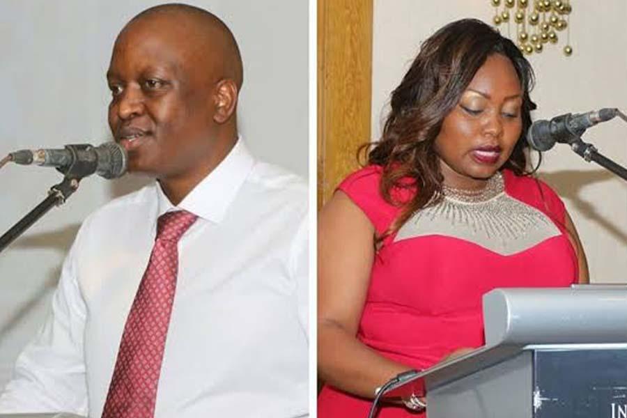 Millicent Omanga husband photos Dr. Francis Nyamiobo