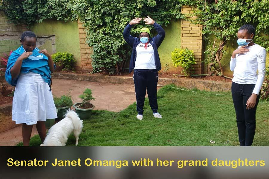Sen Janet Ongera family background, home, family, husband, and grand children