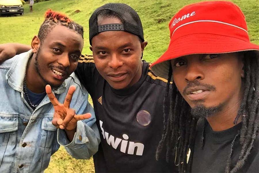 Trending Kisii musician Smallz Lethal and Raj Kisii rapper