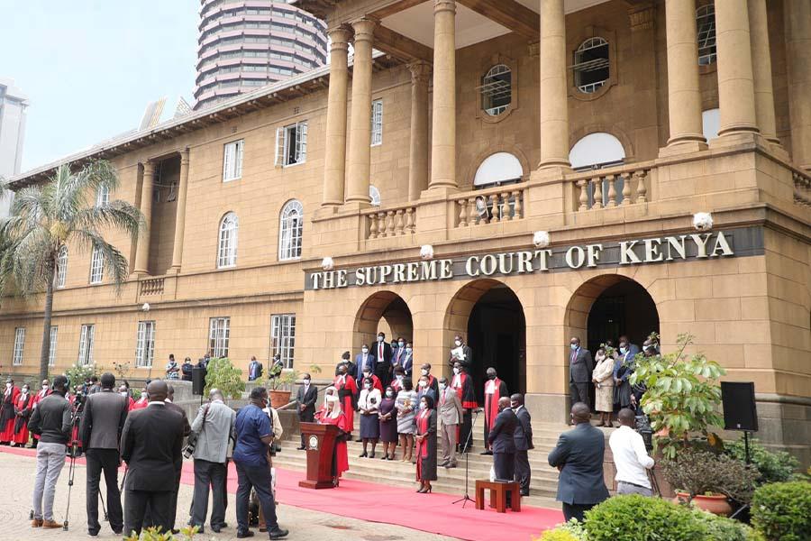 CJ David Maraga retired from The Supreme Court of Kenya