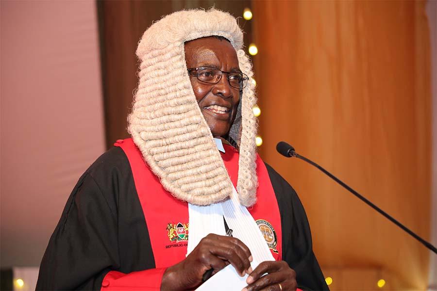 Chief Justice David Maraga history, professional career, retirement, salary, net worth