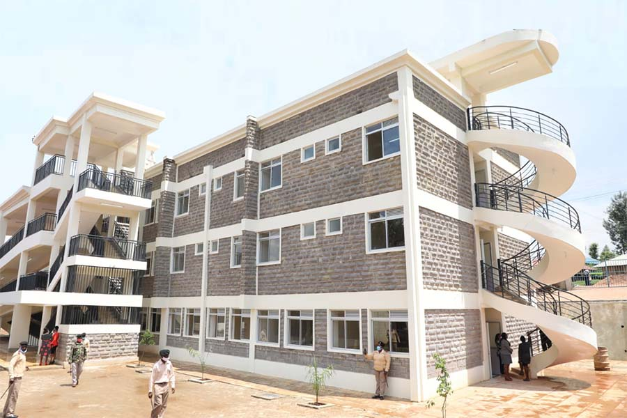 Marani Hospital level 4 wing by James Ongwae