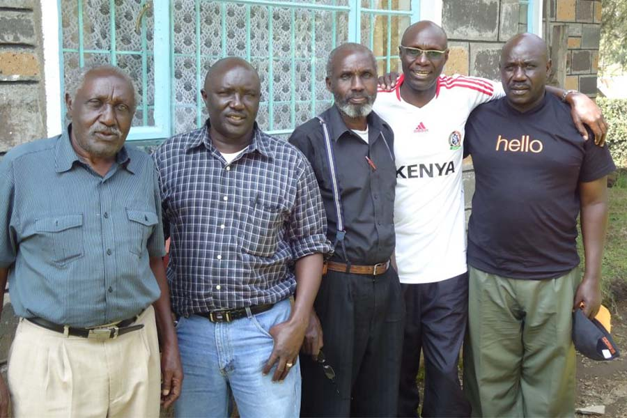Uncle Fred Obachi Machoka family, father, mother,and brothers