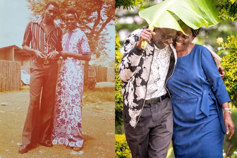 Uncle Fred Obachi Machoka wedding anniversary with Wife Sophia