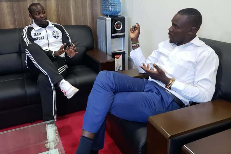 Charles Chweya Matoke and Hon Silvanus osoro mp