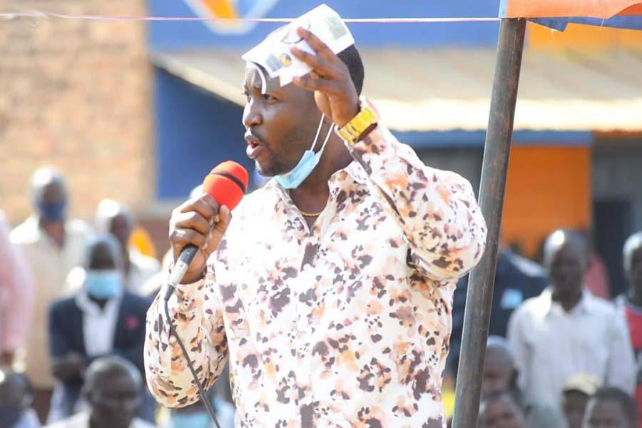 Charles Chweya Matoke politics profile