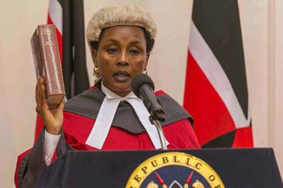 DCJ Philomena Mwilu education and professional career in the Judiciary Service Commission of Kenya