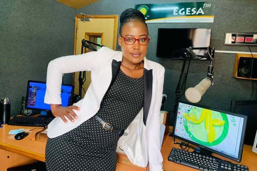 Nana Ediva Nancy Kwamboka Egesa FM presenter