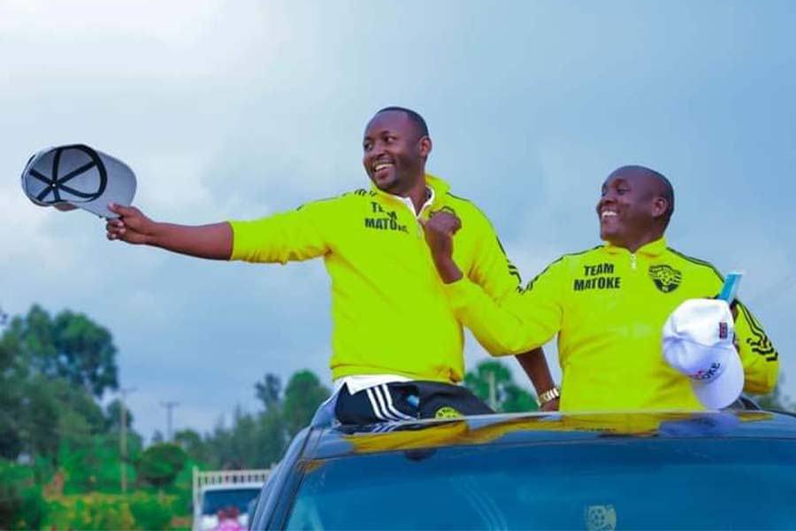 Team Matoke memorial cup and campaign trail