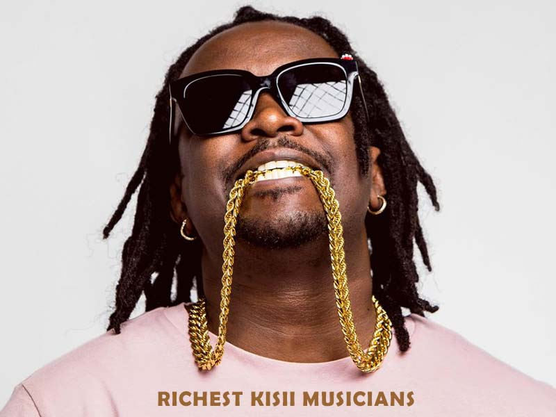 10 richest Kisii musicians in 2021 - 2022, wealth performance stats, salary, latest net worth ranking info