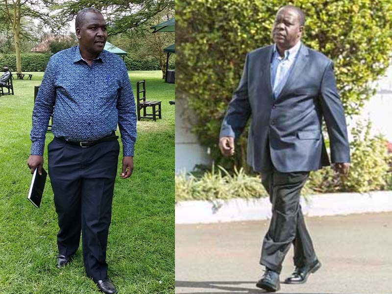 CS Fred Okengo Matiangi brother John Matiangi, Member of the Public Service in National Treasury and Planning