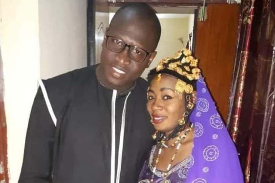 Halima Cisse husband Kader Arby and father of the Malian nonuplets born in Morocco