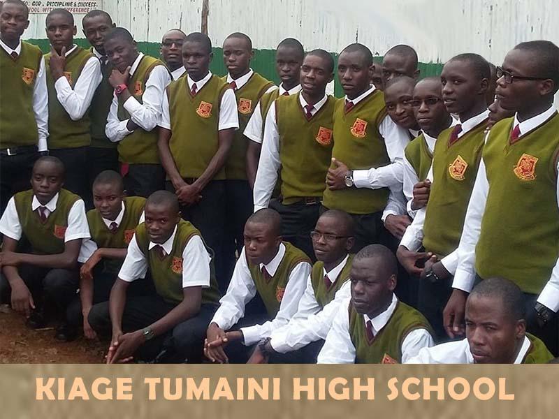 Kiage Tumaini High School KCSE results 2020, KNEC Code, mean grade ranking, KUCCPS performance analysis