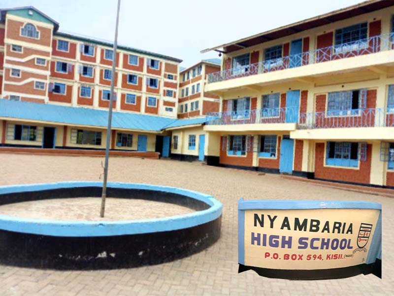 Nyambaria High School KCSE results 2020, performance analysis, KNEC Code, mean grade KUCCPS rank