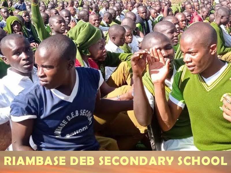 Riambase Secondary School KCSE results 2020, performance analysis, code, KUCCPS mean grade rank