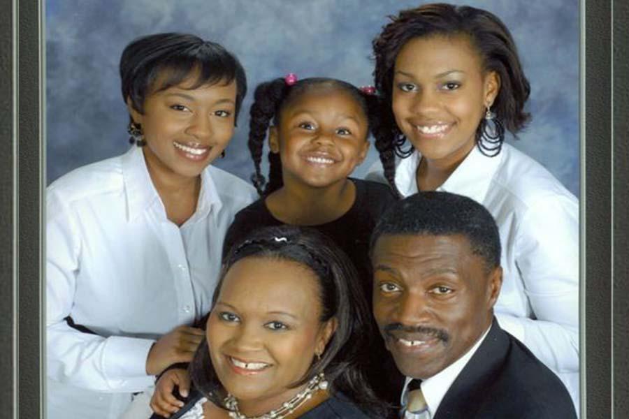 Victoria Rubadiri family photos, father David Kwame Rubadiri, mother, sister Mabel Rubadiri