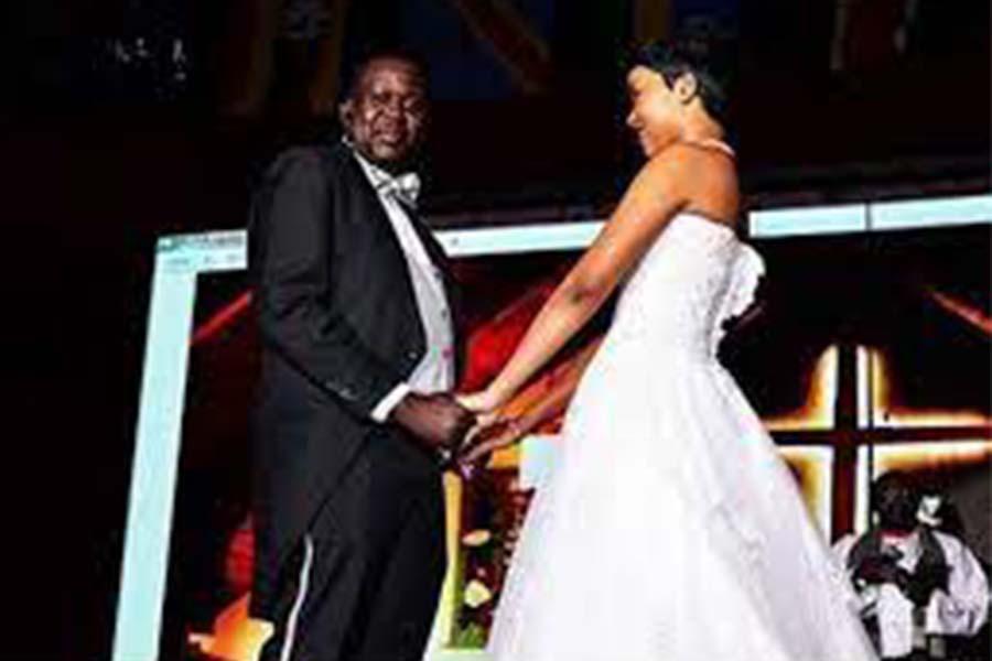 Churchill Show Daniel Ndambuki wedding photos online