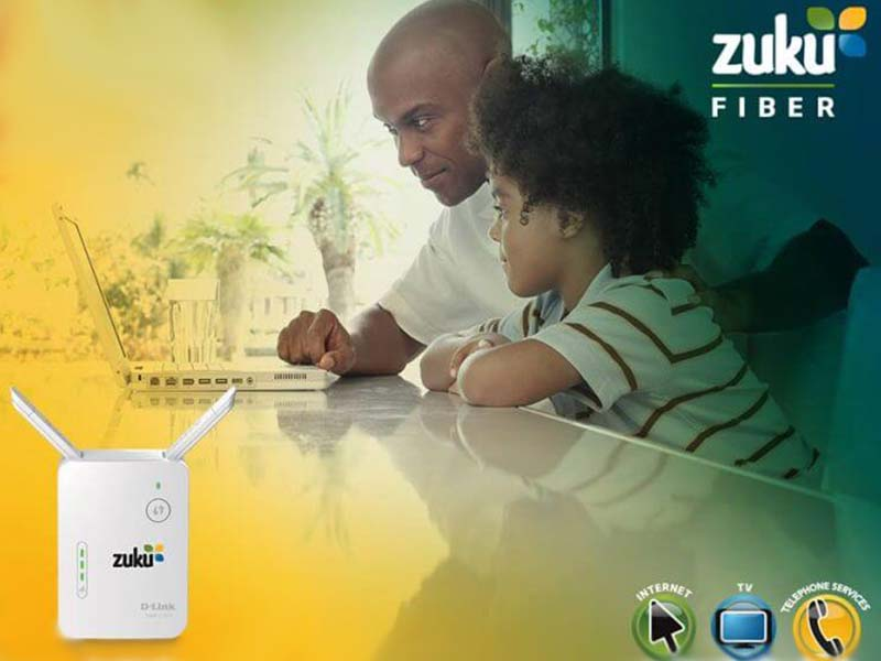List of best Zuku internet packages 2021 Kenya, prices, fiber WiFi, satellite TV rates