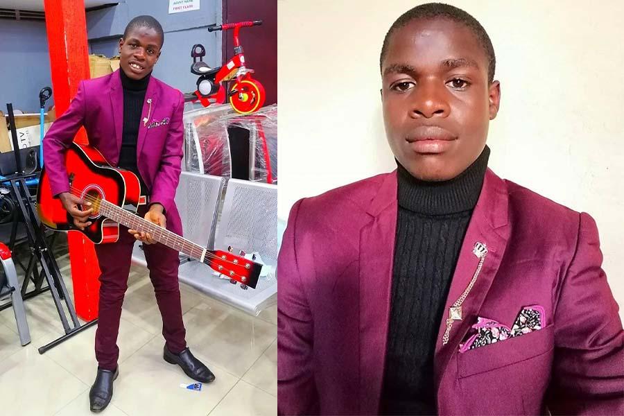 The multitalented from Kisii tribe, Kagwana the Boy real names Charles Onkoba Onkui