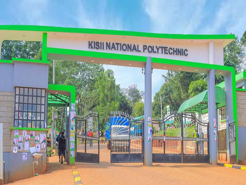Where is Kisii National Polytechnic located, directions, map, distance from Nairobi and contacts