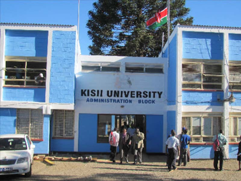 Where is Kisii University located, distance from Nairobi to Kisii, and google map directions