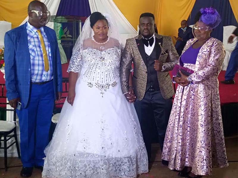 """Babu Gee Omosayansi destroys critics of his newlywed wife Suzzy, """"Do you the world will adjust"""""""
