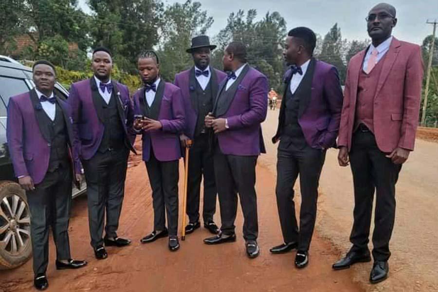 Babu Gee Omosayansi wedding photos