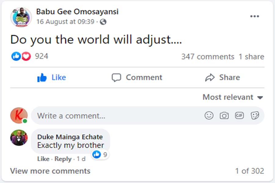 Davison Nyaberi Mong'are Babu Gee finally speaks on wedding Suzzy