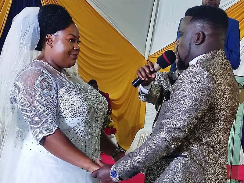 Davison Nyaberi Mong'are Omosayansi Babu Gee wife Suzzy body shaming