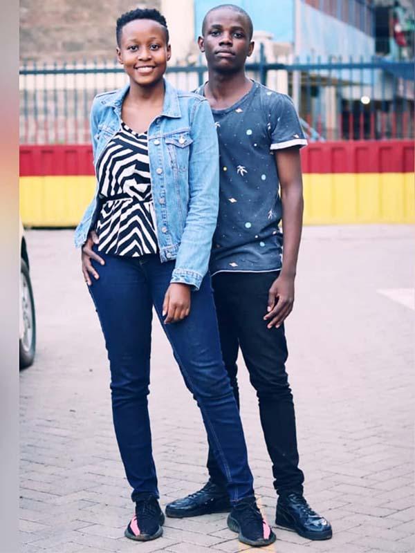 Kennedy Odhiambo Crazy Kennar girlfriend Natalie Asewe