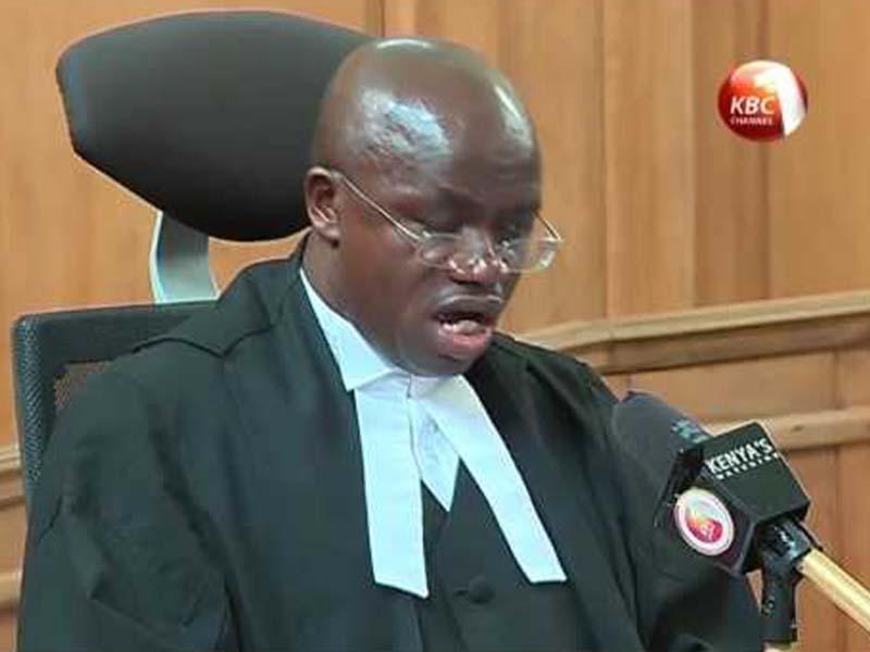 Kenyan Court of Appeal Jurist Patrick Omwenga Kiage profile