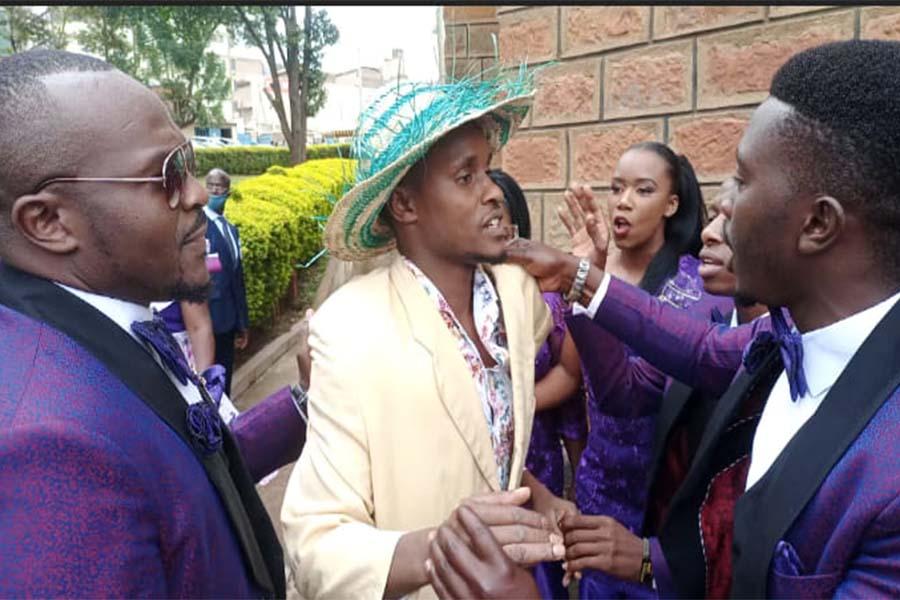Nyakundi the Actor, Miggy Champ, and Simba 254 Layon