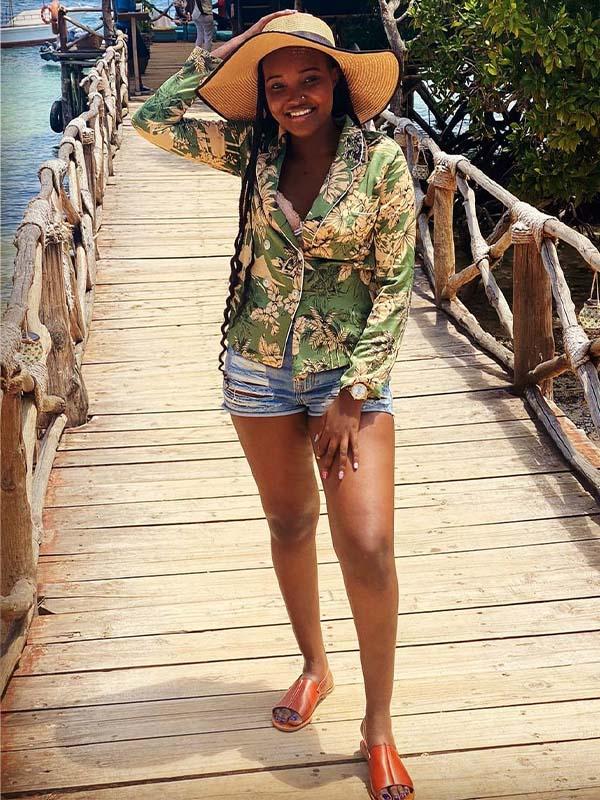 Film editor, actress, and model Selina Nyaboke photos