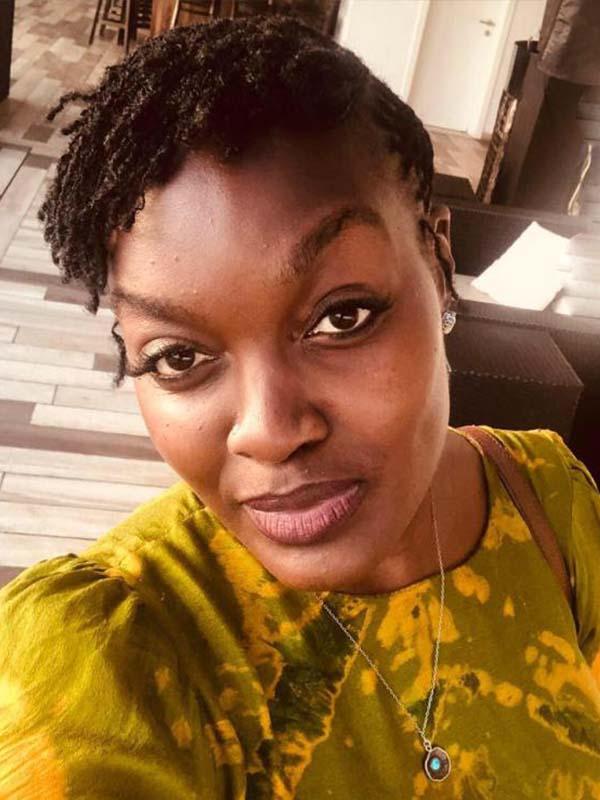 Former Nation Media radio presenter Angela Angwenyi