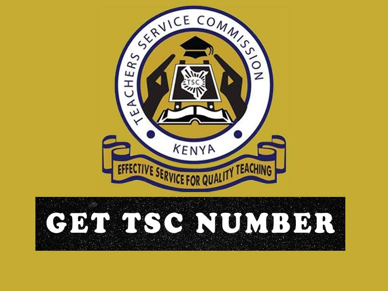 How to get TSC number online, registration requirements, and Teacher Service Commission contacts